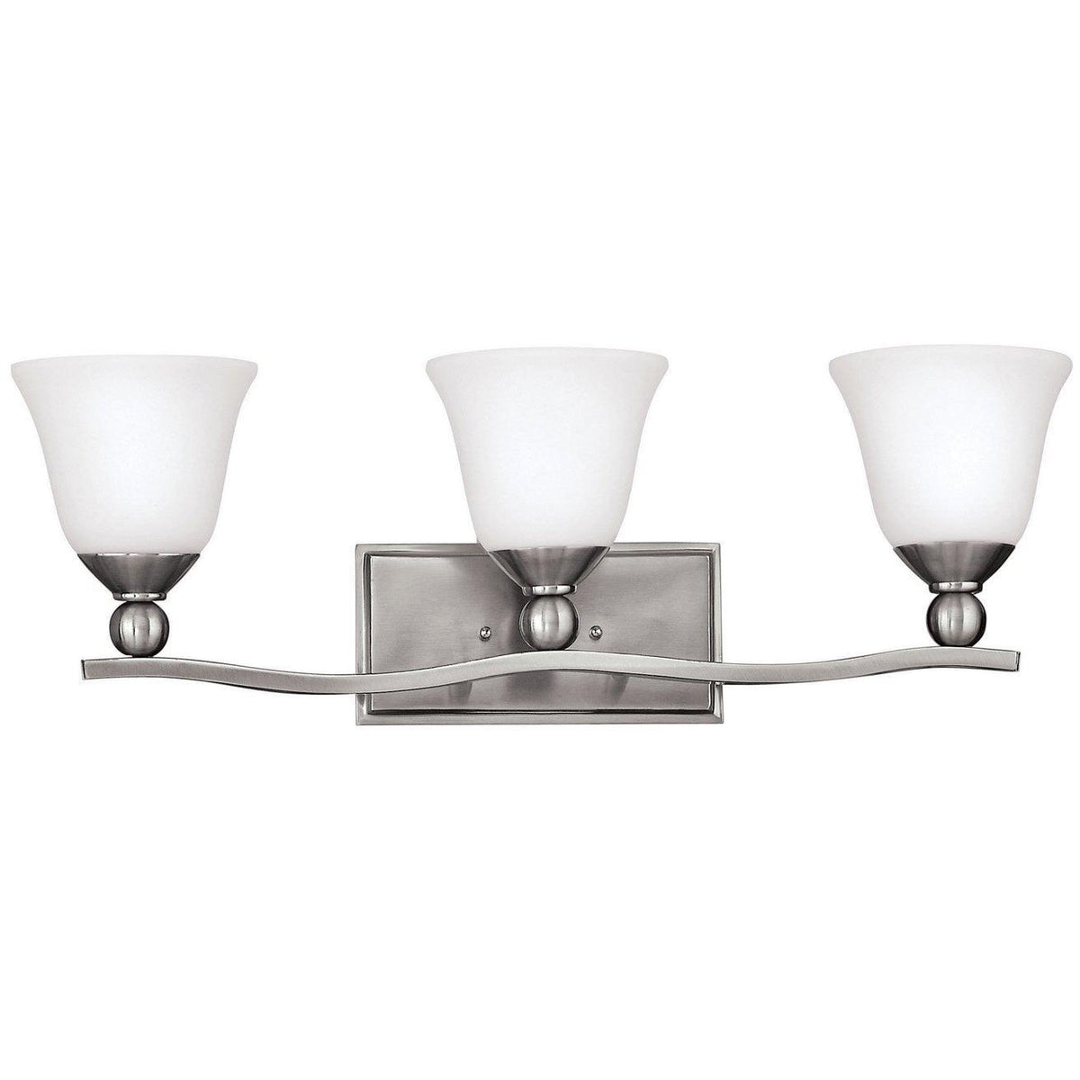 Hinkley Canada - 5893BN - Three Light Bath - Bolla - Brushed Nickel