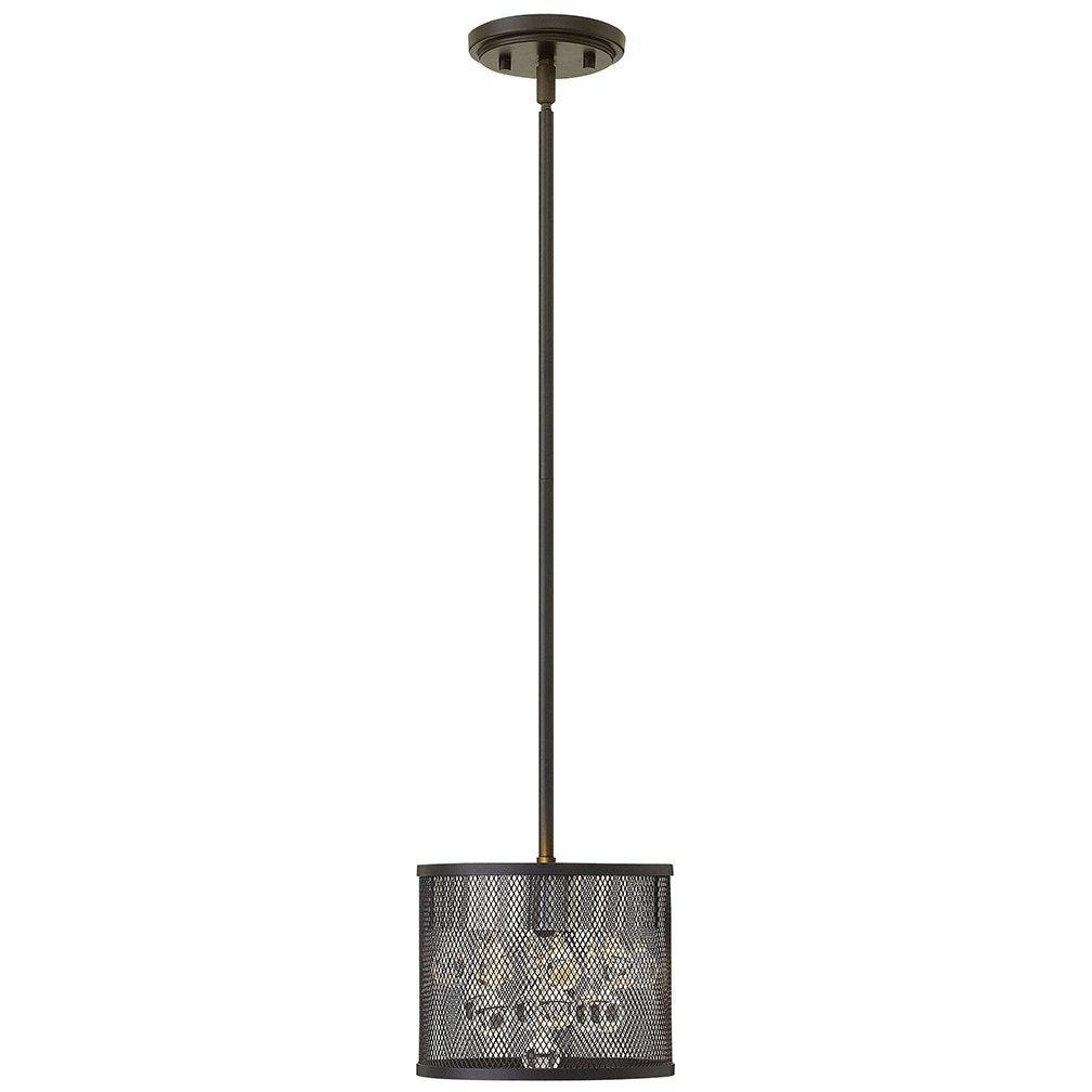 Fredrick Ramond Canada - FR38907BLK - Two Light Foyer Pendant - Fiona - Black