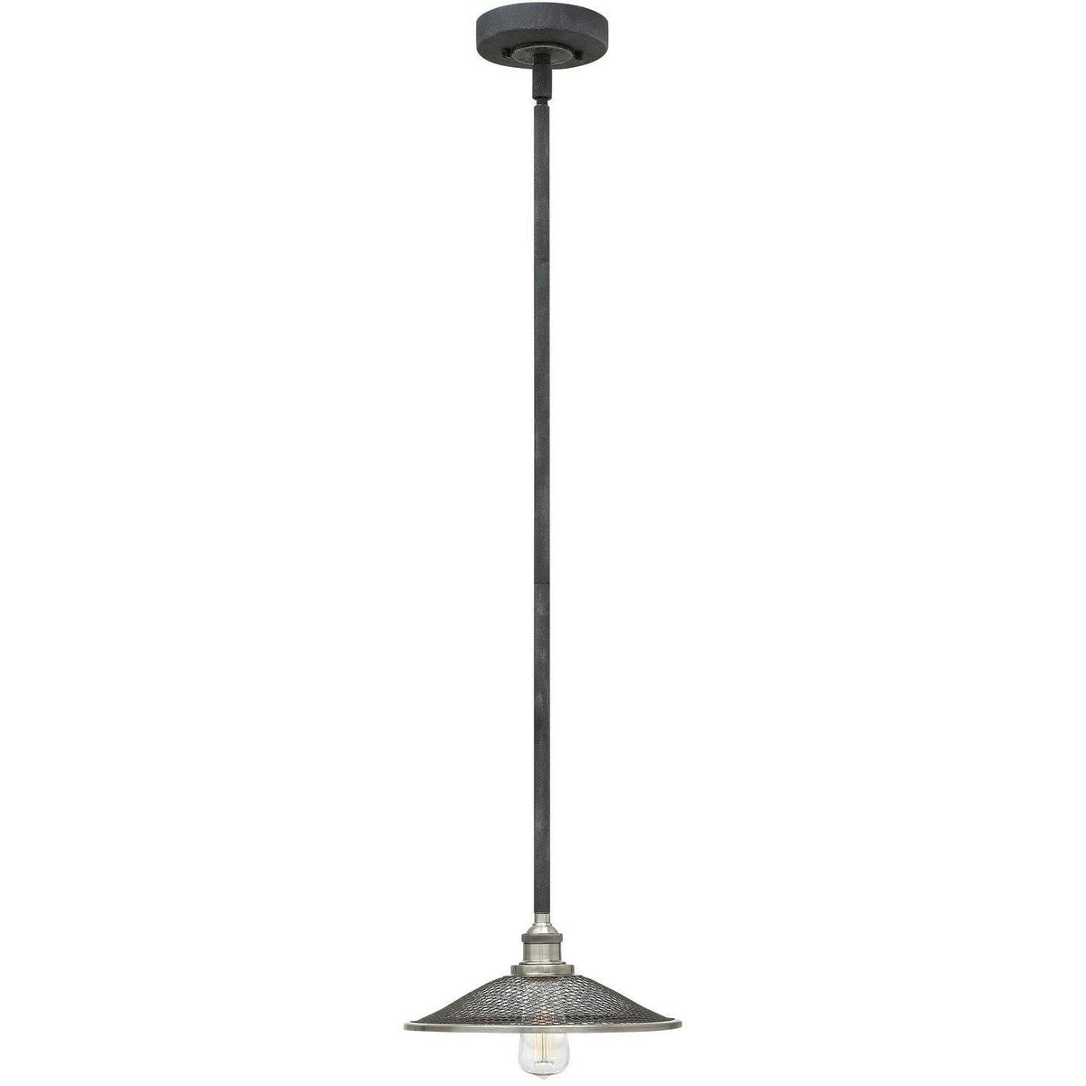 Hinkley Canada - 4367DZ - One Light Pendant - Rigby - Aged Zinc