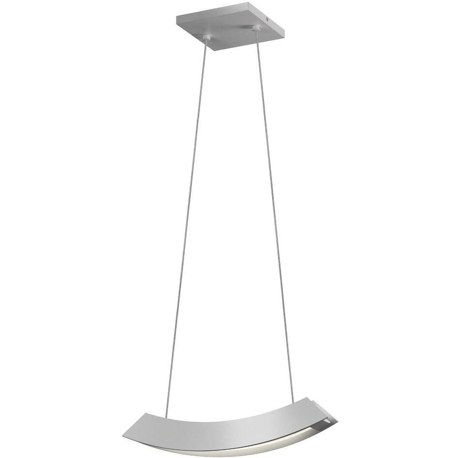 Sonneman - A Way of Light - 1740.16 - LED Pendant - Kabu - Bright Satin Aluminum
