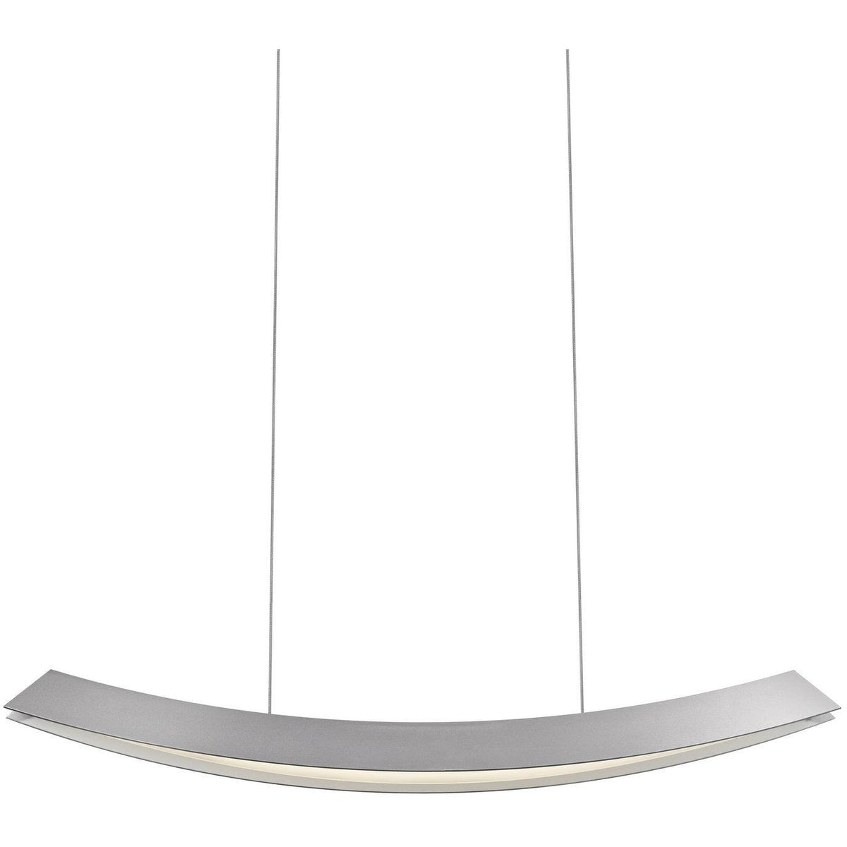 Sonneman - A Way of Light - 1742.16 - LED Pendant - Kabu - Bright Satin Aluminum