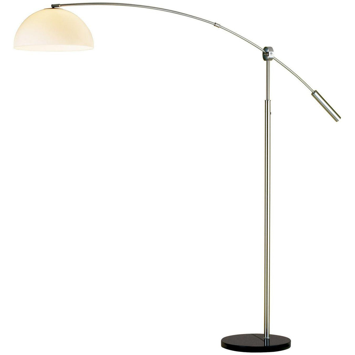 Adesso Home - 4134-22 - One Light Floor Lamp - Outreach - Brushed Steel
