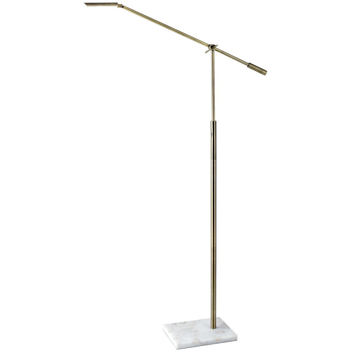 Adesso Home - 4129-21 - LED Floor Lamp - Vera - Antique Brass
