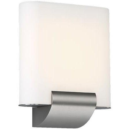 WAC Lighting - WS-46609-SN - LED Wall Sconce - Coco - Satin Nickel
