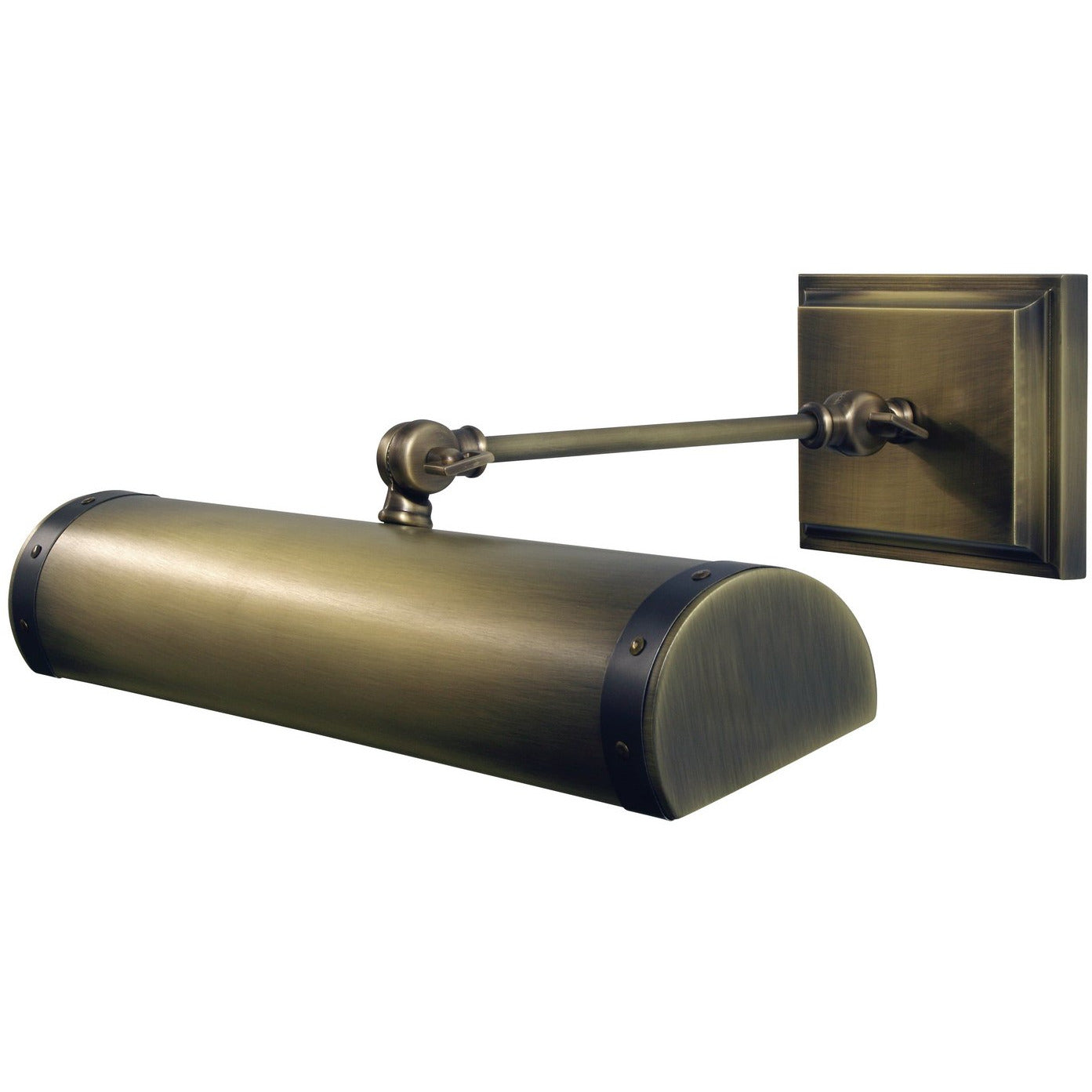 House of Troy - DSTLEDZ16-ABMB - LED Picture Light - Steamer - Antique Brass w/ Mahogany Bronze accents
