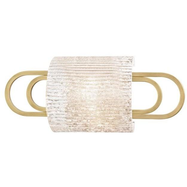 Hudson Valley - 5841-AGB - One Light Bath Bracket - Buckley - Aged Brass