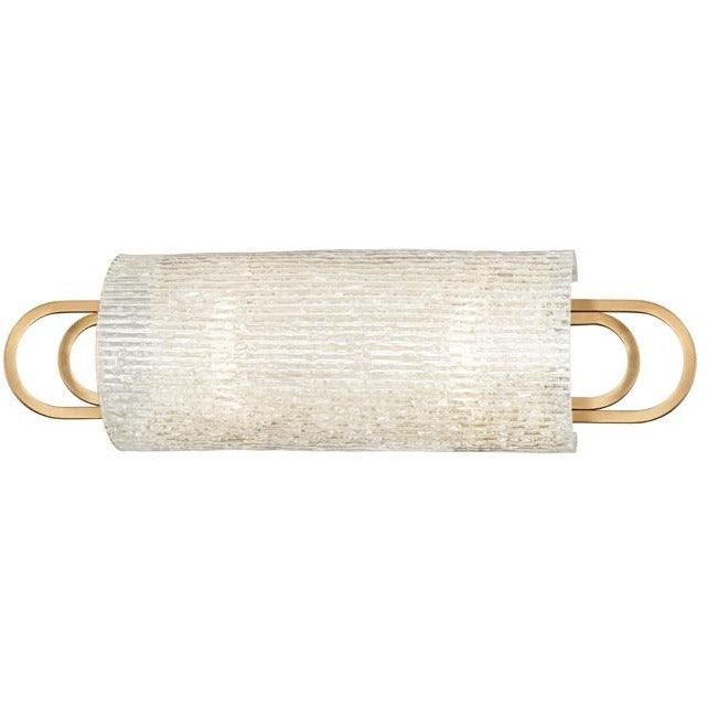 Hudson Valley - 5842-AGB - Two Light Bath Bracket - Buckley - Aged Brass