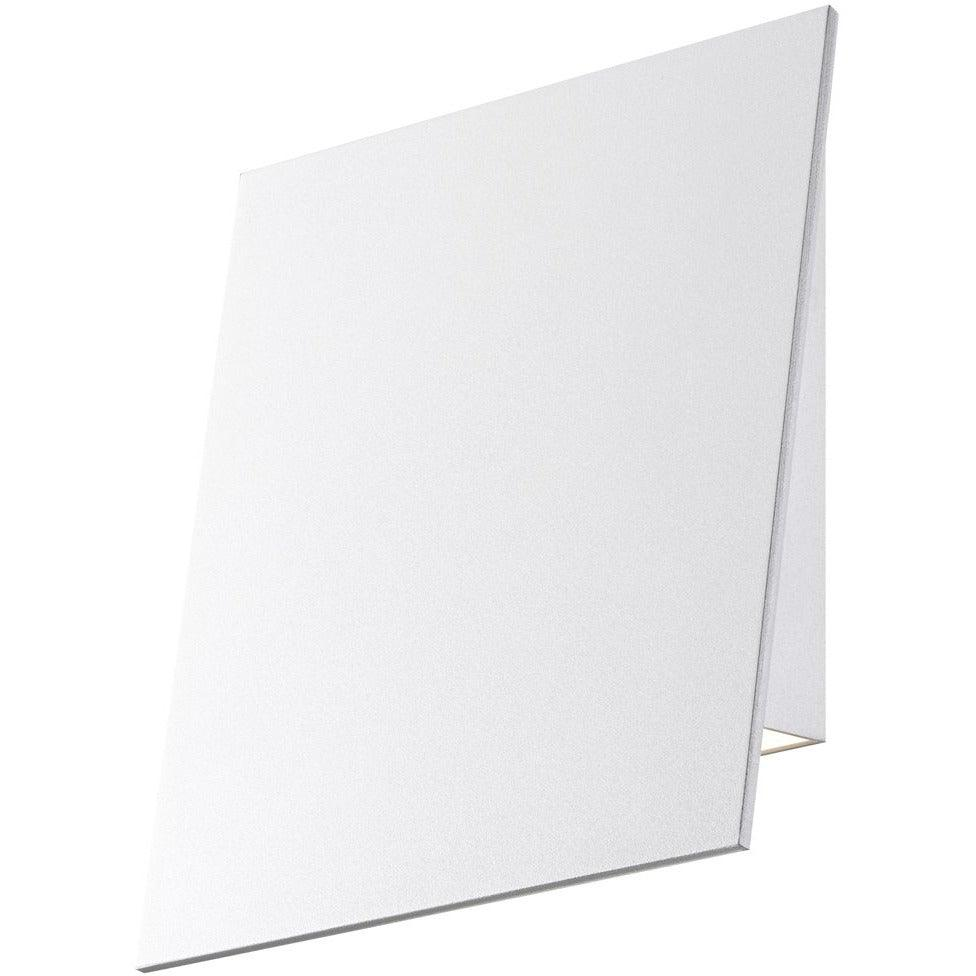 Sonneman - A Way of Light - 2363.98-WL - LED Wall Sconce - Angled Plane - Textured White