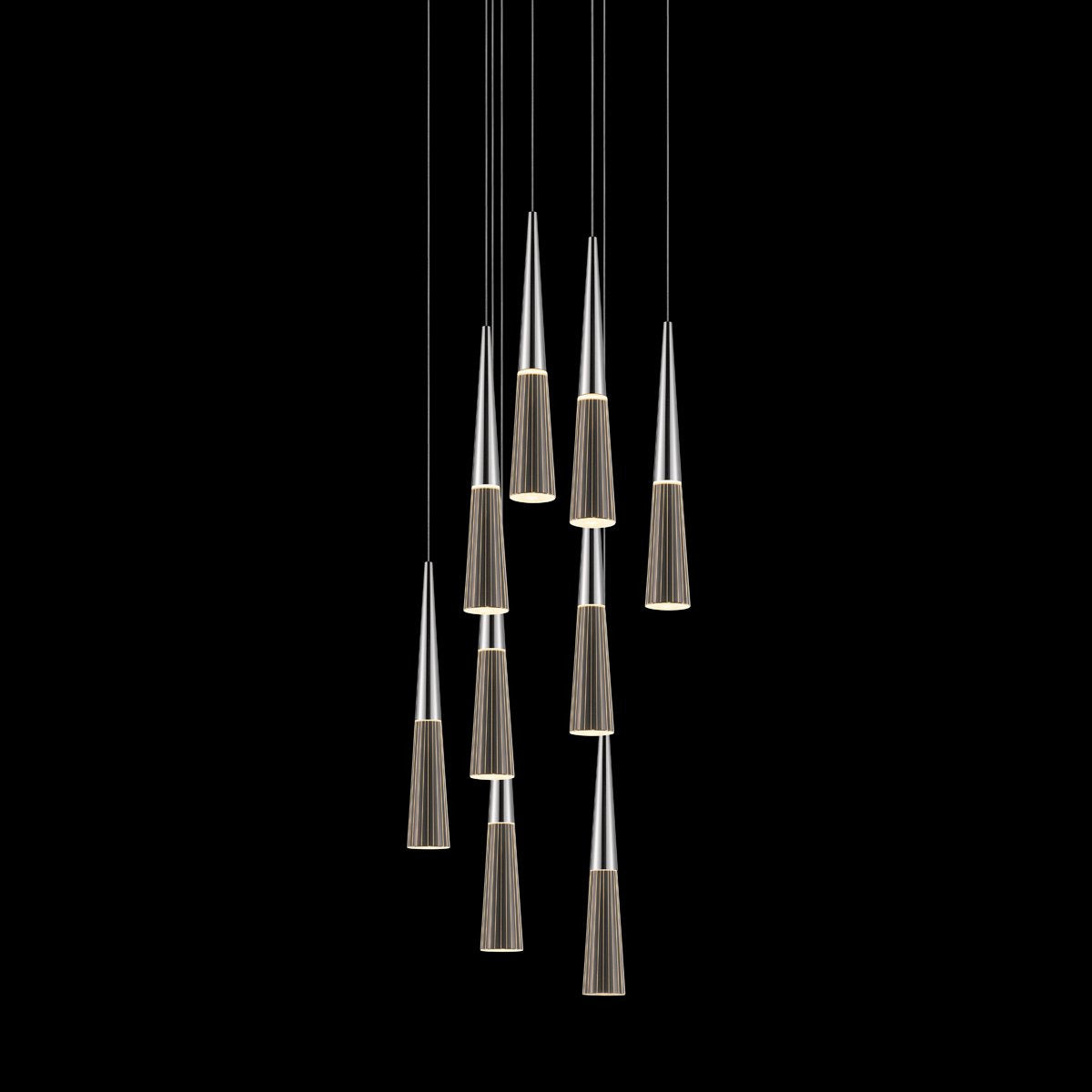 Sonneman - A Way of Light - 2944.01 - LED Pendant - Spire - Polished Chrome