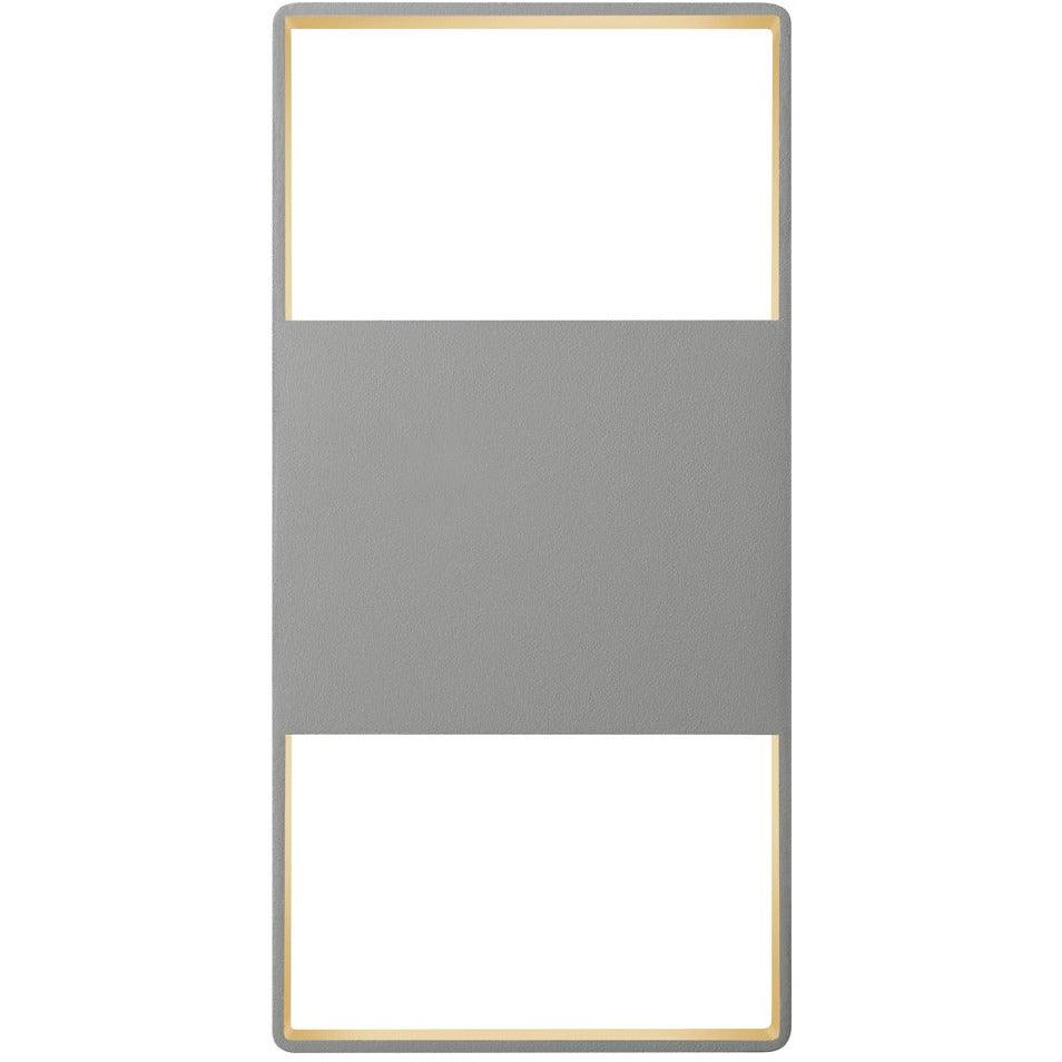 Sonneman - A Way of Light - 7202.74-WL - LED Wall Sconce - Light Frames - Textured Gray