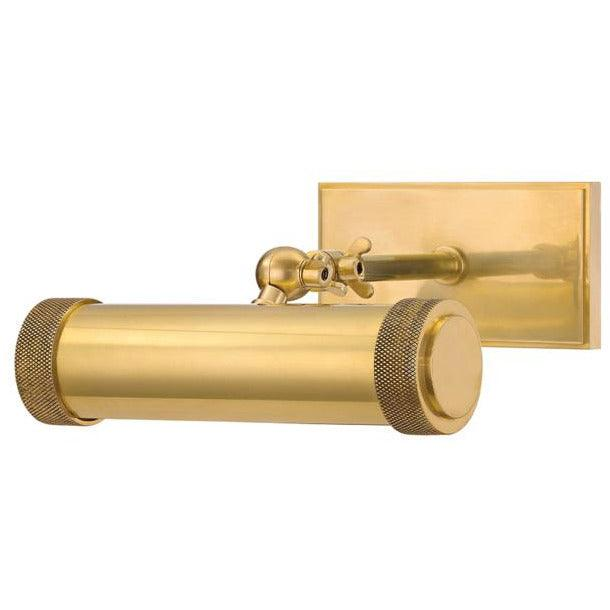 Hudson Valley - 5808-AGB - One Light Picture Light - Ridgewood - Aged Brass