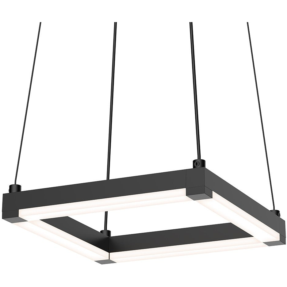Sonneman - A Way of Light - 2785.25 - LED Pendant - Stix Square - Satin Black