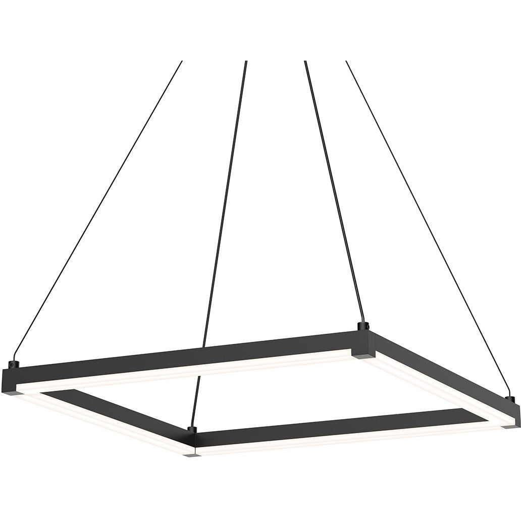 Sonneman - A Way of Light - 2786.25 - LED Pendant - Stix Square - Satin Black
