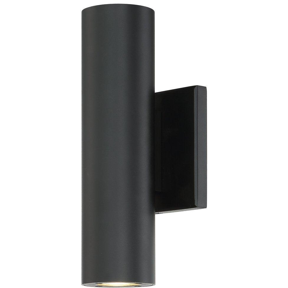 WAC Lighting - WS-W36610-BK - LED Outdoor Wall Light - Caliber - Black