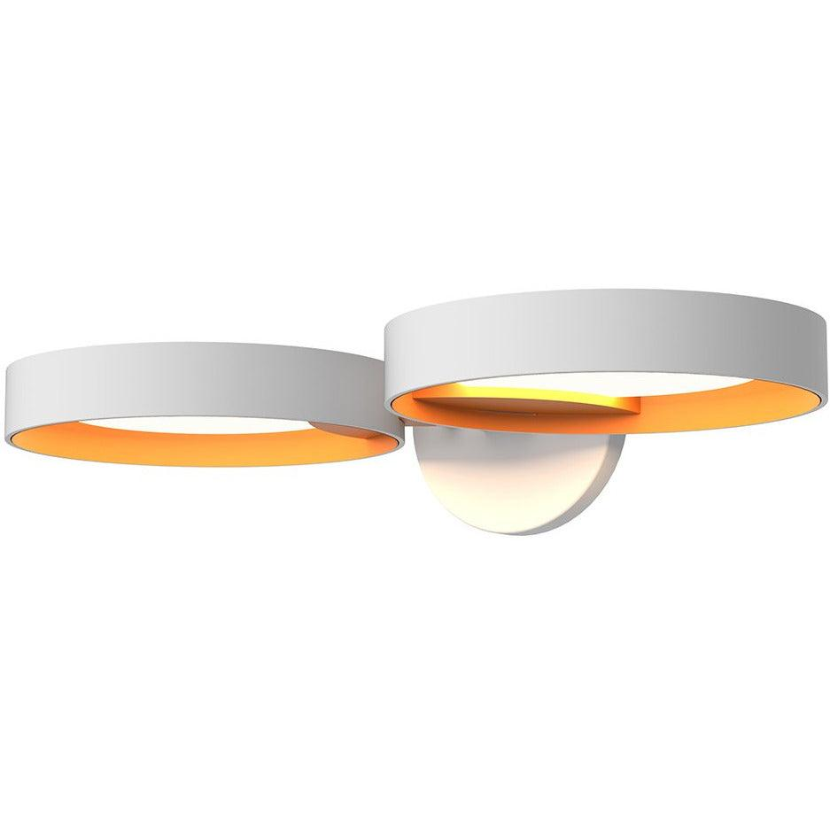 Sonneman - A Way of Light - 2651.03A - LED Wall Sconce - Light Guide Ring - Satin White