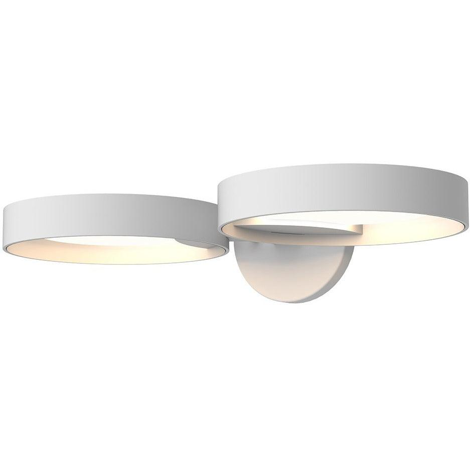 Sonneman - A Way of Light - 2651.03W - LED Wall Sconce - Light Guide Ring - Satin White