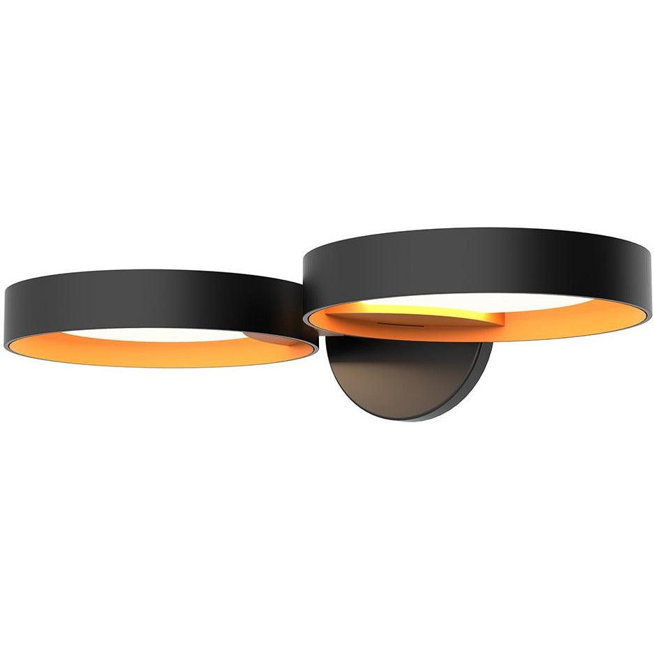 Sonneman - A Way of Light - 2651.25A - LED Wall Sconce - Light Guide Ring - Satin Black