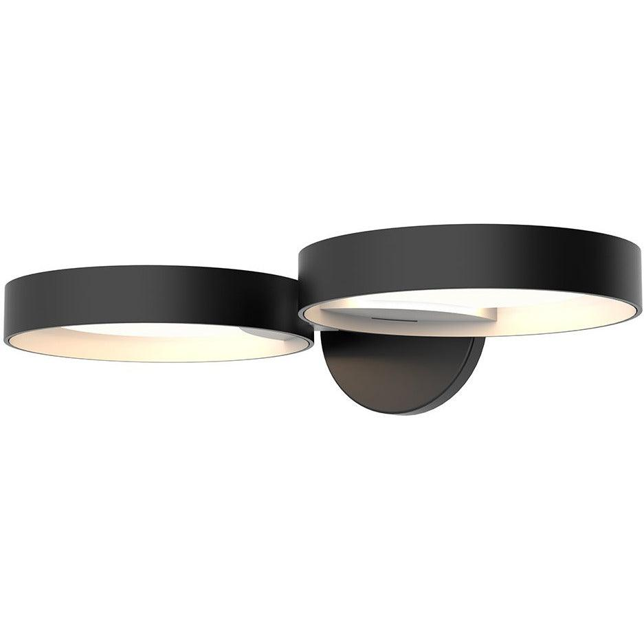 Sonneman - A Way of Light - 2651.25W - LED Wall Sconce - Light Guide Ring - Satin Black