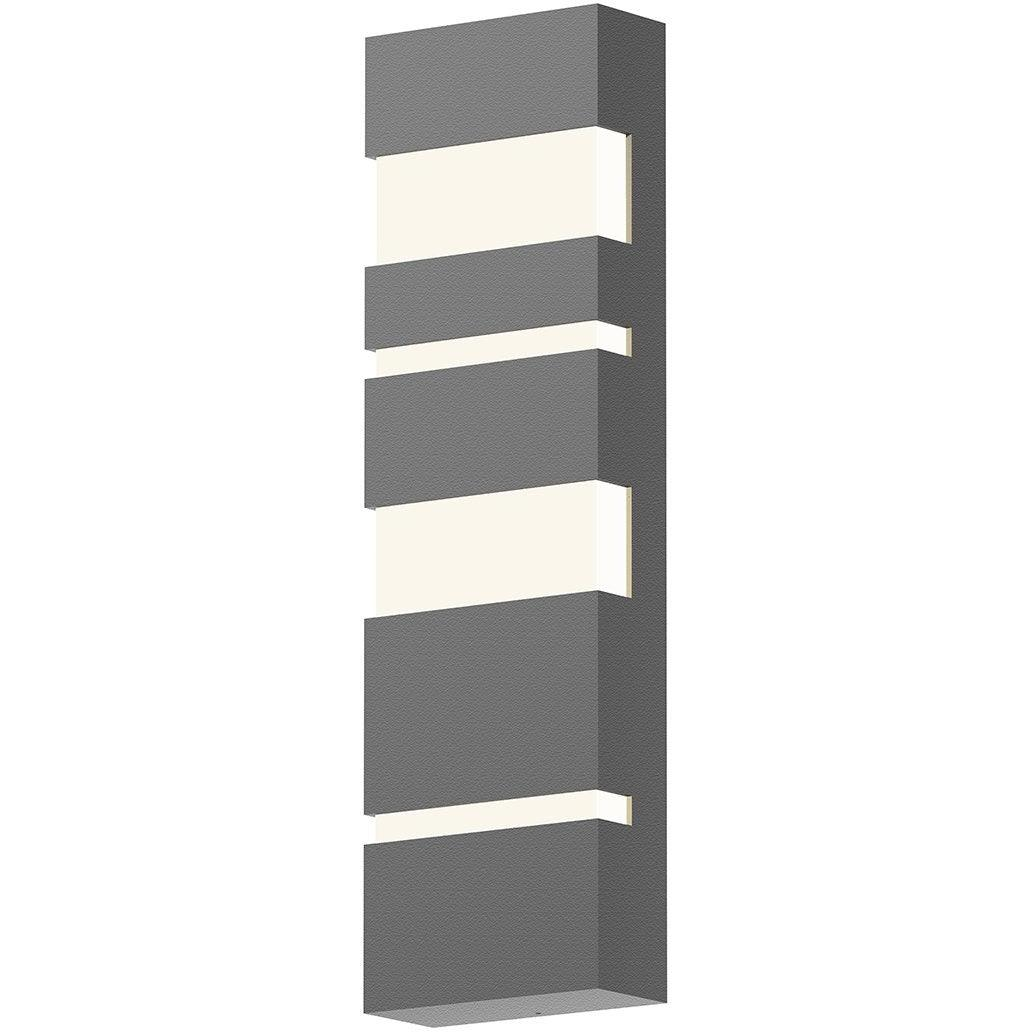 Sonneman - A Way of Light - 7287.74-WL - LED Wall Sconce - Jazz Notes - Textured Gray