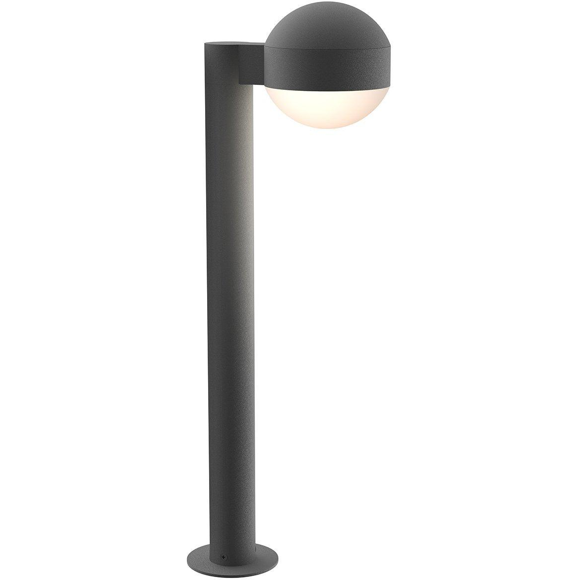 Sonneman - A Way of Light - 7304.DC.DL.74-WL - LED Bollard - REALS - Textured Gray