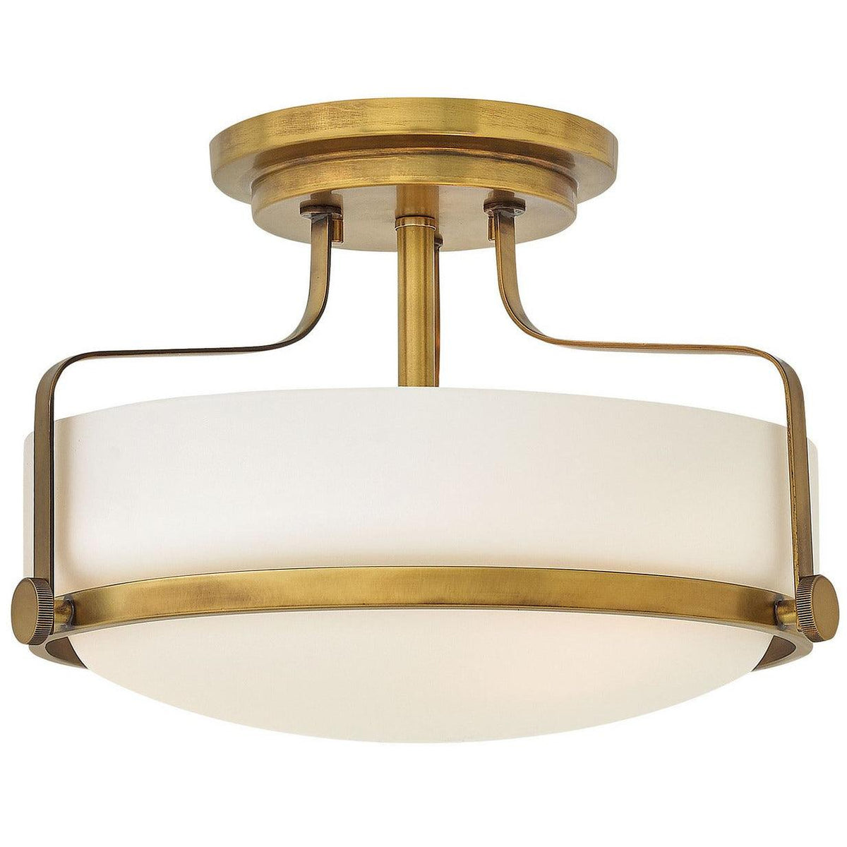 Hinkley Canada - 3641HB - Three Light Flush Mount - Harper - Heritage Brass