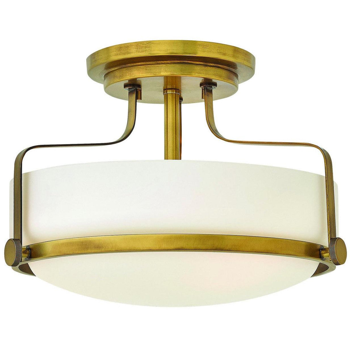 Hinkley Canada - 3641HB-LED - LED Semi-Flush Mount - Harper - Heritage Brass