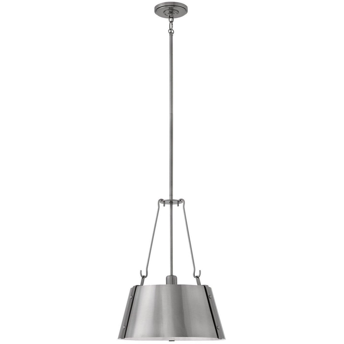 Hinkley Canada - 3394PL - One Light Pendant - Cartwright - Polished Antique Nickel
