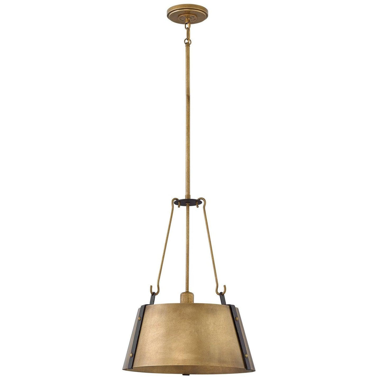 Hinkley Canada - 3394RS - One Light Pendant - Cartwright - Rustic Brass