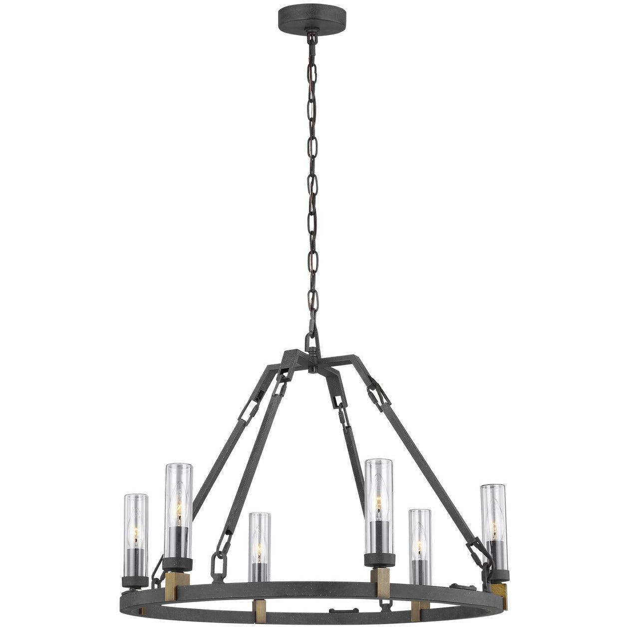 Feiss - OLF3213/6AF - Generation Lighting - Landen - Antique Forged Iron