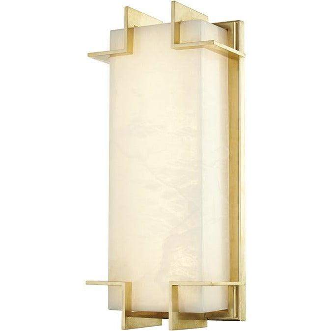Hudson Valley - 3915-AGB - LED Wall Sconce - Delmar - Aged Brass