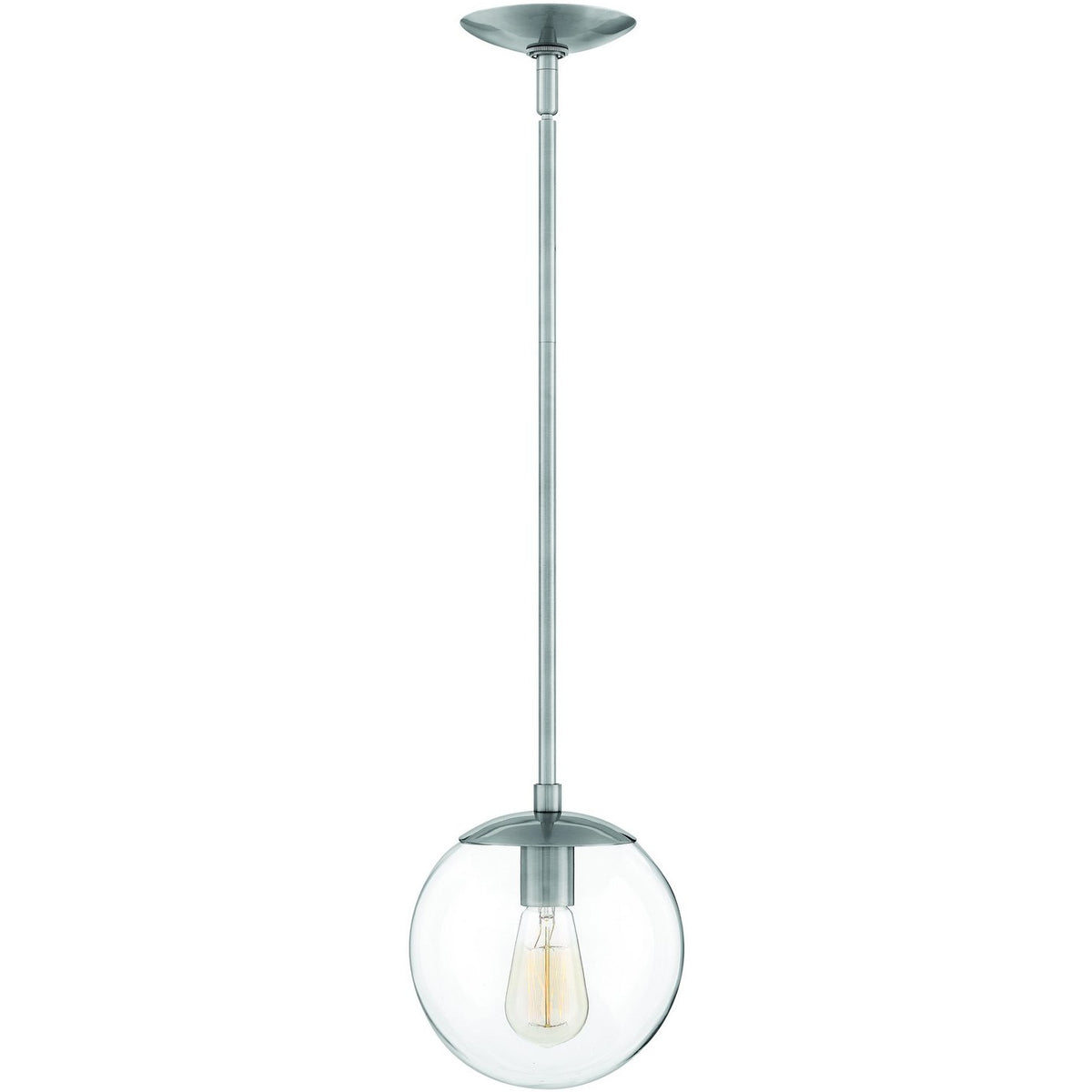 Hinkley Canada - 3747PL - One Light Pendant - Warby - Polished Antique Nickel