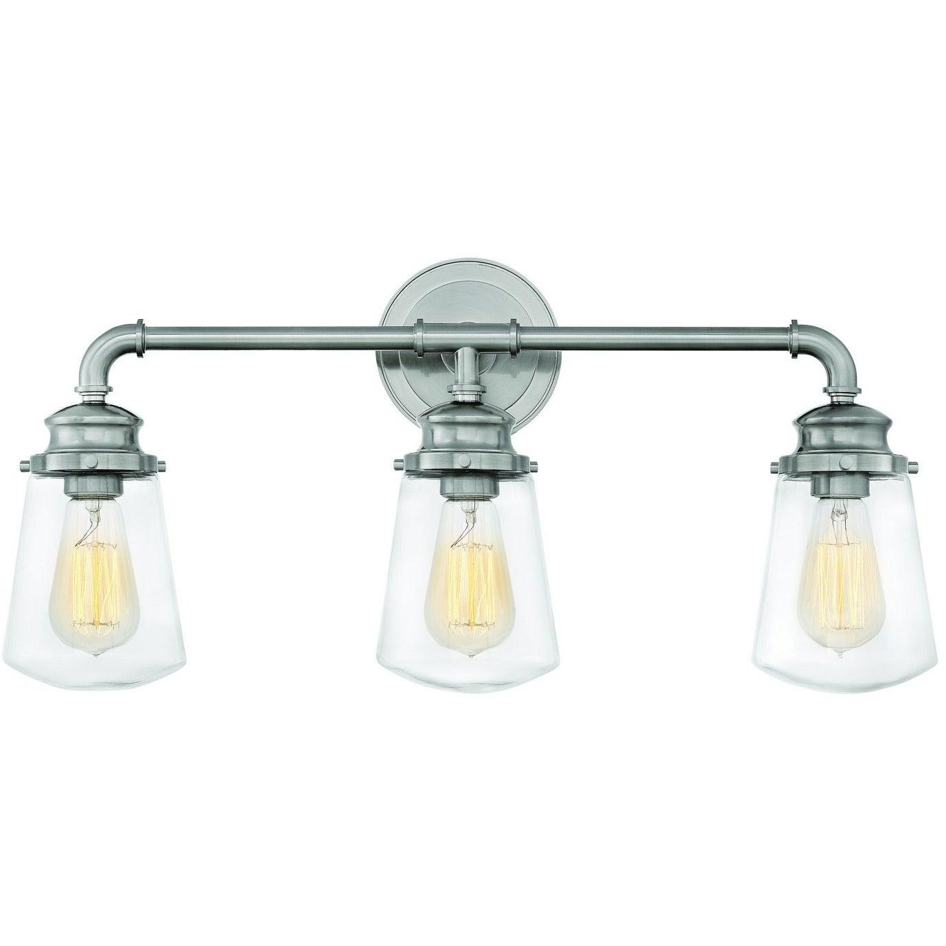 Hinkley Canada - 5033BN - Three Light Bath - Fritz - Brushed Nickel