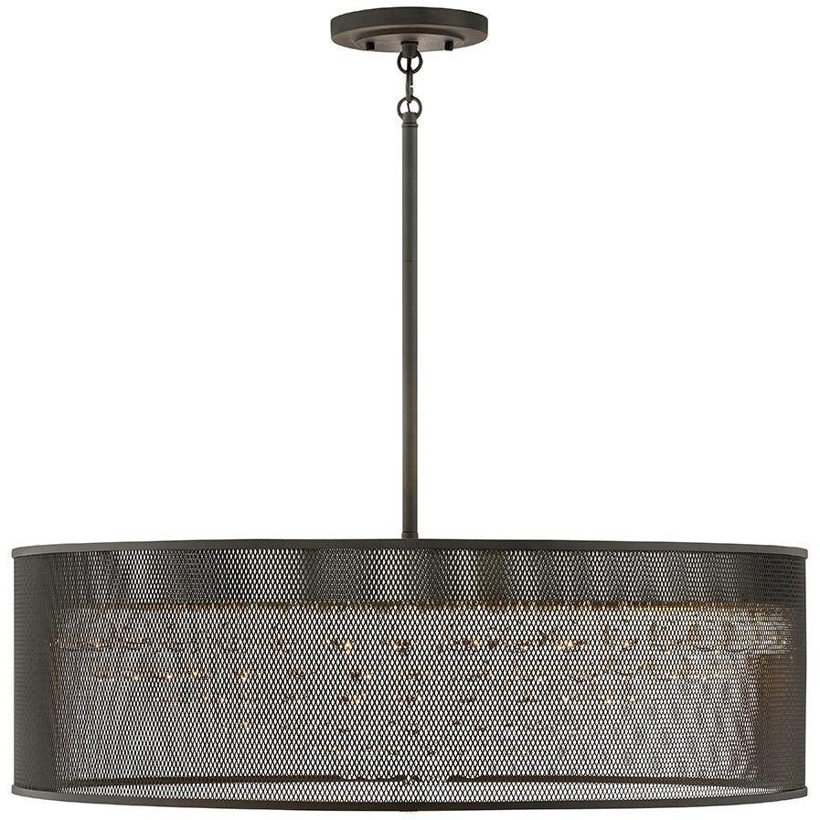 Fredrick Ramond Canada - FR38908BLK - Eight Light Chandelier - Fiona - Black