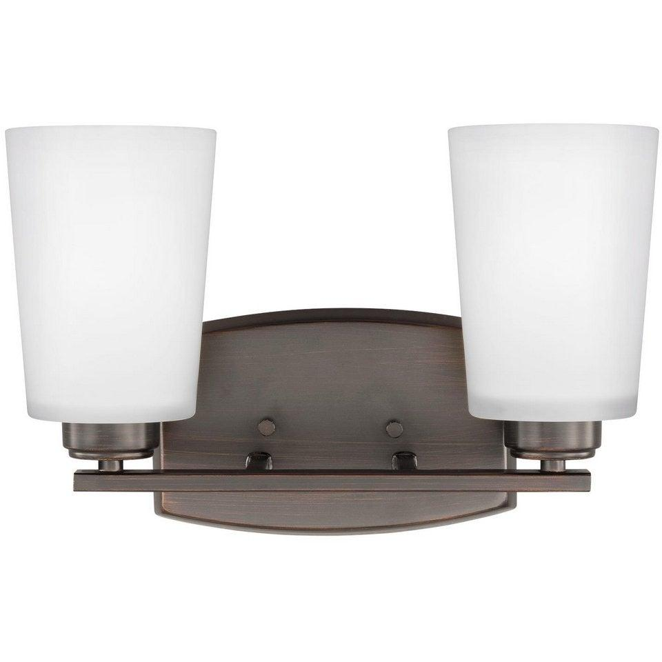 Sea Gull Collection - 4428902-710 - Generation Lighting - Franport - Wall / Bath - Burnt Sienna