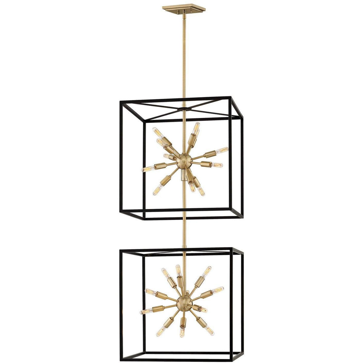 Hinkley Canada - 46316BLK - 24 Light Chandelier - Aros - Black