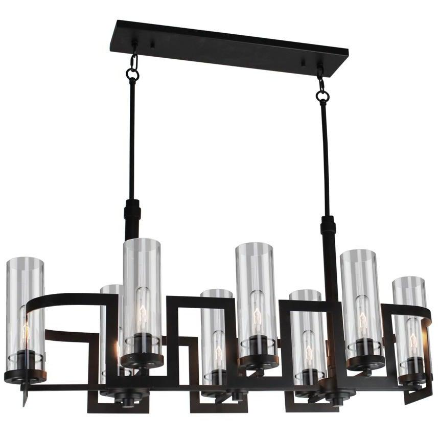 Artcraft Lighting - AC10878JV - Eight Light Chandelier - Palazzo Vecchio - Dark Java Brown