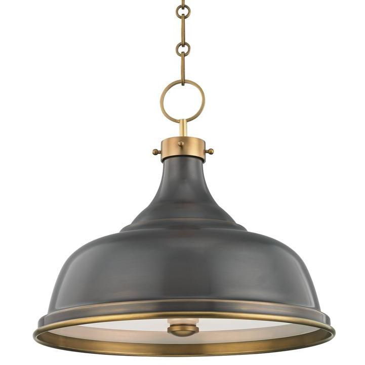 Hudson Valley - MDS900-ADB - Three Light Pendant - Metal No.1