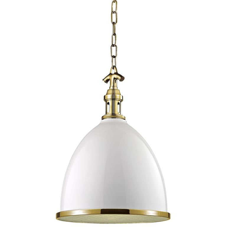 Hudson Valley - 7714-BAGB - One Light Pendant - Viceroy