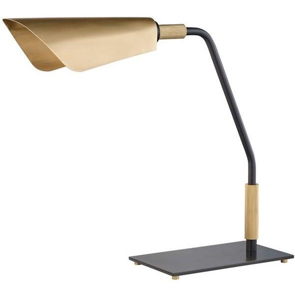 Hudson Valley - L3730-AOB - One Light Table Lamp - Bowery