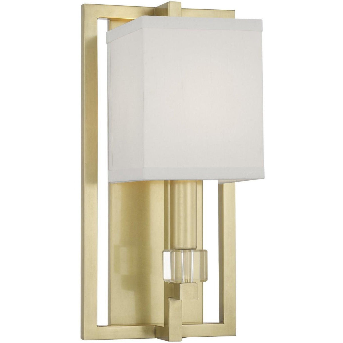Crystorama - 8881-AG - One Light Wall Mount - Dixon - Aged Brass
