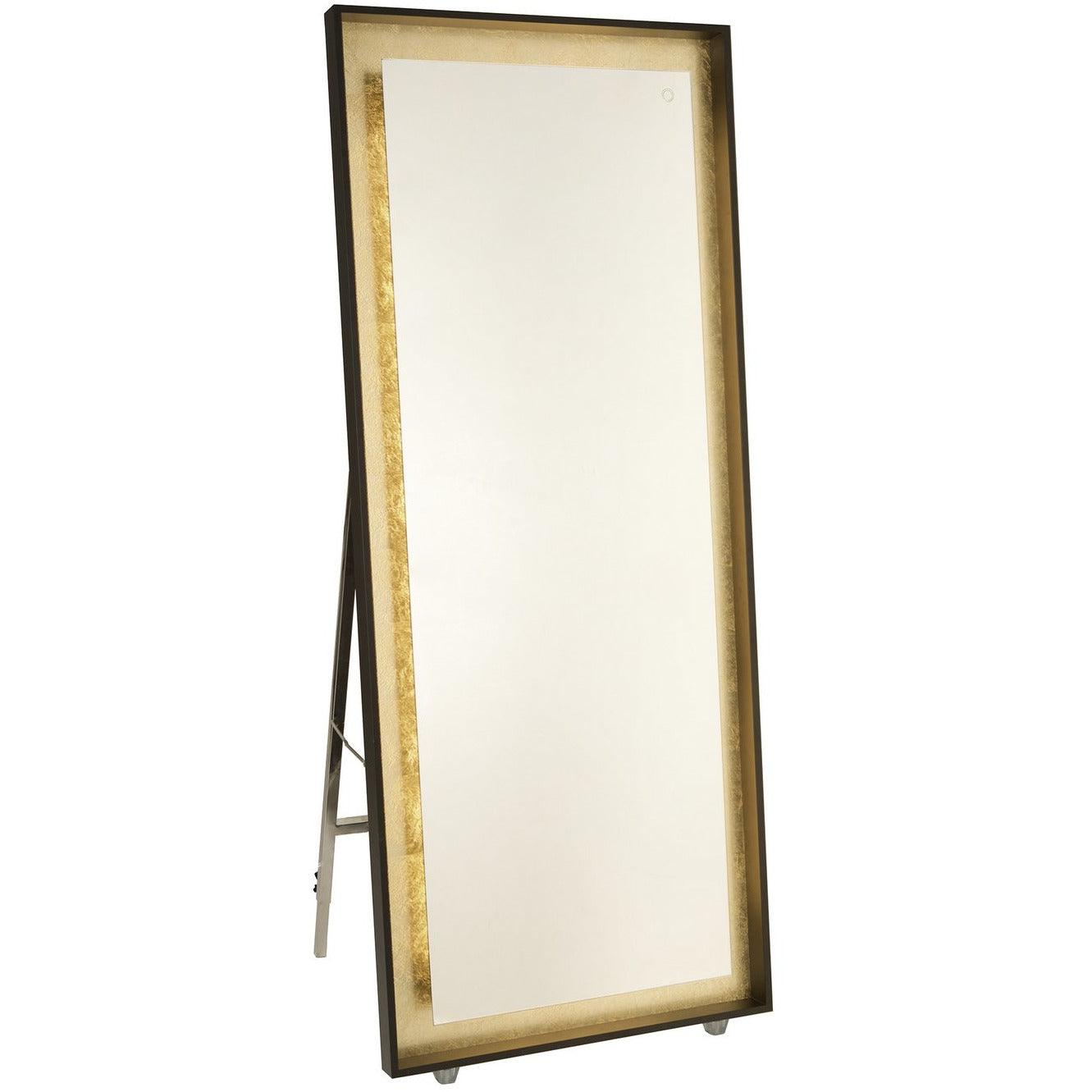 Artcraft Lighting - AM314 - LED Mirror - Reflections - Oil Rubbed Bronze & Gold Leaf