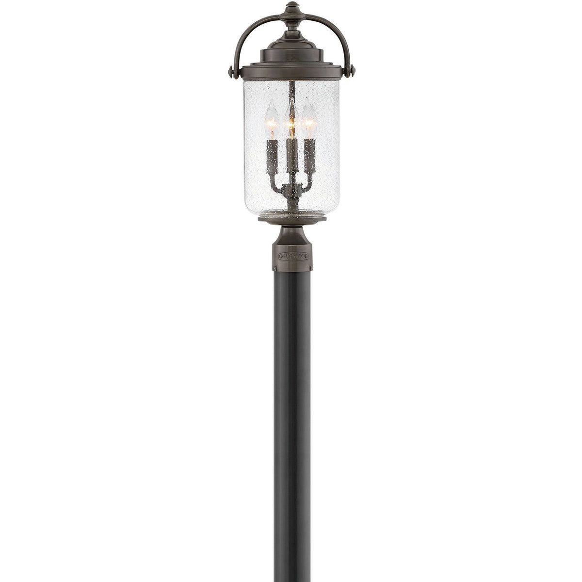 Hinkley Canada - 2757OZ - Three Light Outdoor Lantern - Willoughby - Oil Rubbed Bronze