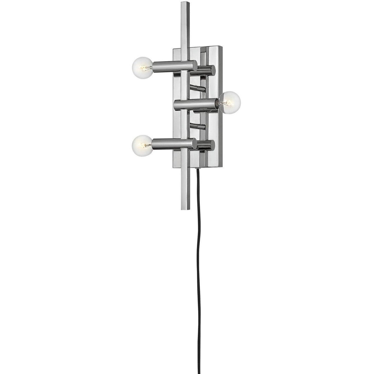 Hinkley Canada - 4122PN - Three Light Wall Sconce - Kinzie - Polished Nickel