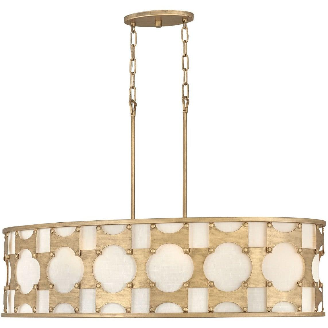 Hinkley Canada - 4738BNG - Six Light Chandelier - Carter - Burnished Gold
