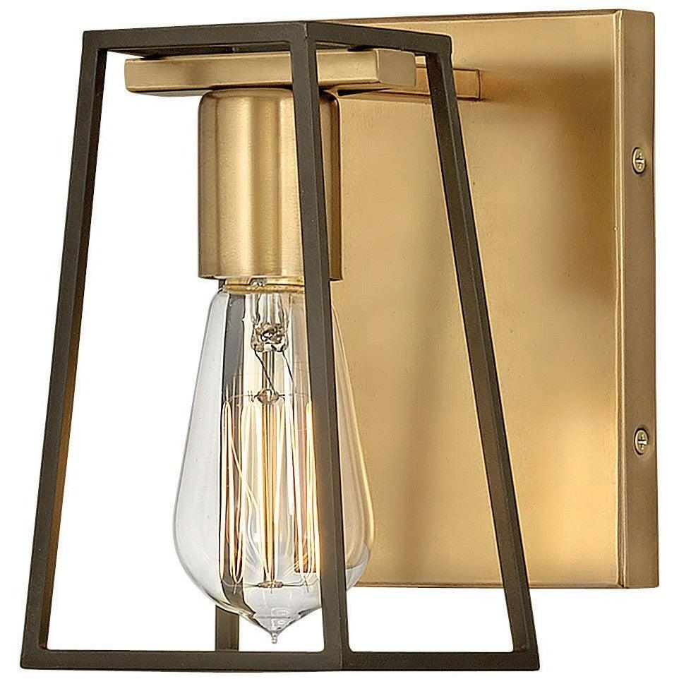 Hinkley Canada - 5160HB - One Light Bath - Filmore - Heritage Brass