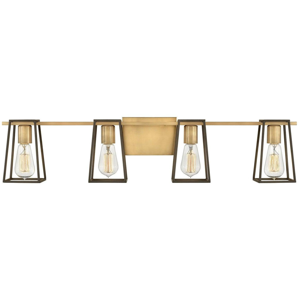Hinkley Canada - 5164HB - Four Light Bath - Filmore - Heritage Brass