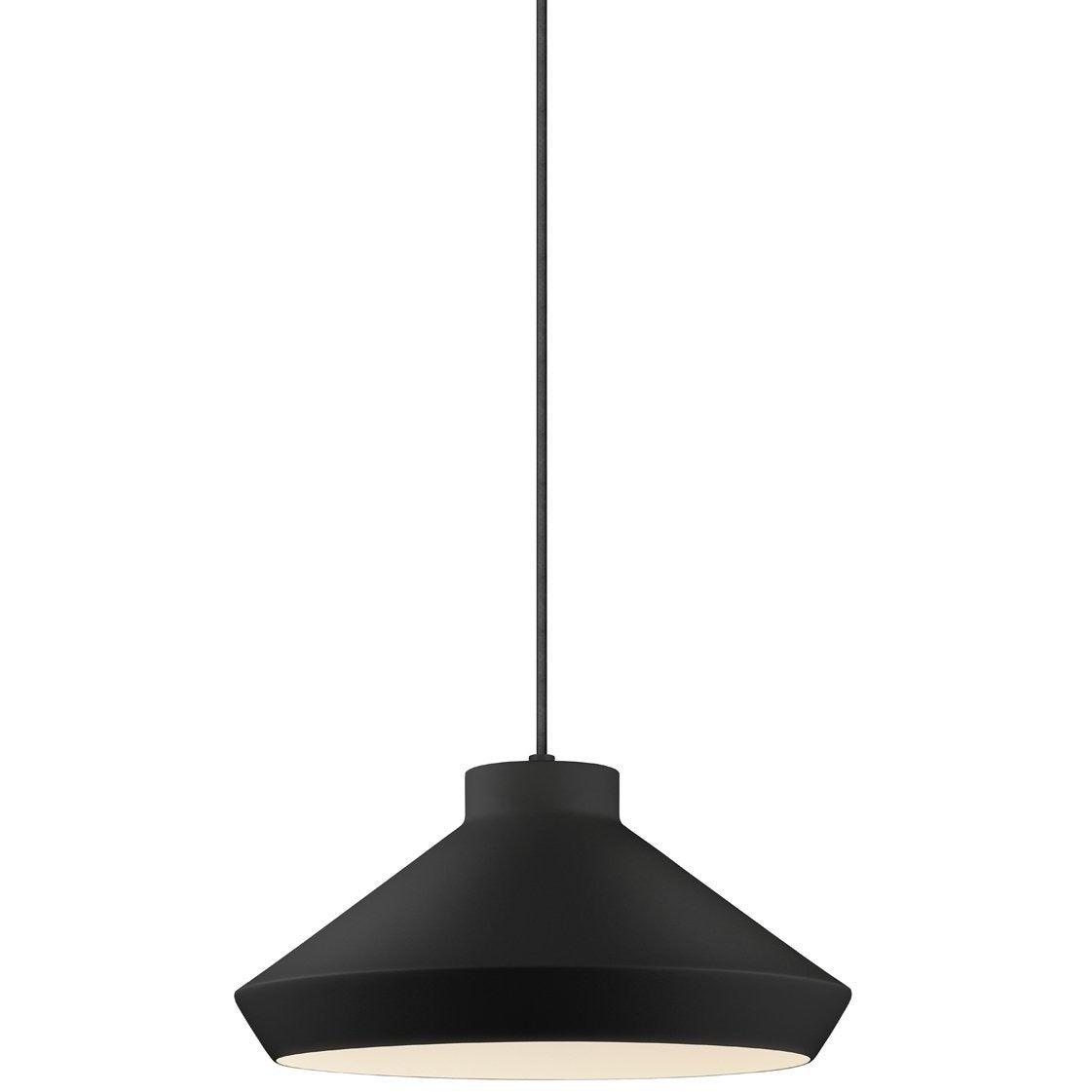 Sonneman - A Way of Light - 2752.25-E - One Light Pendant - Koma - Satin Black