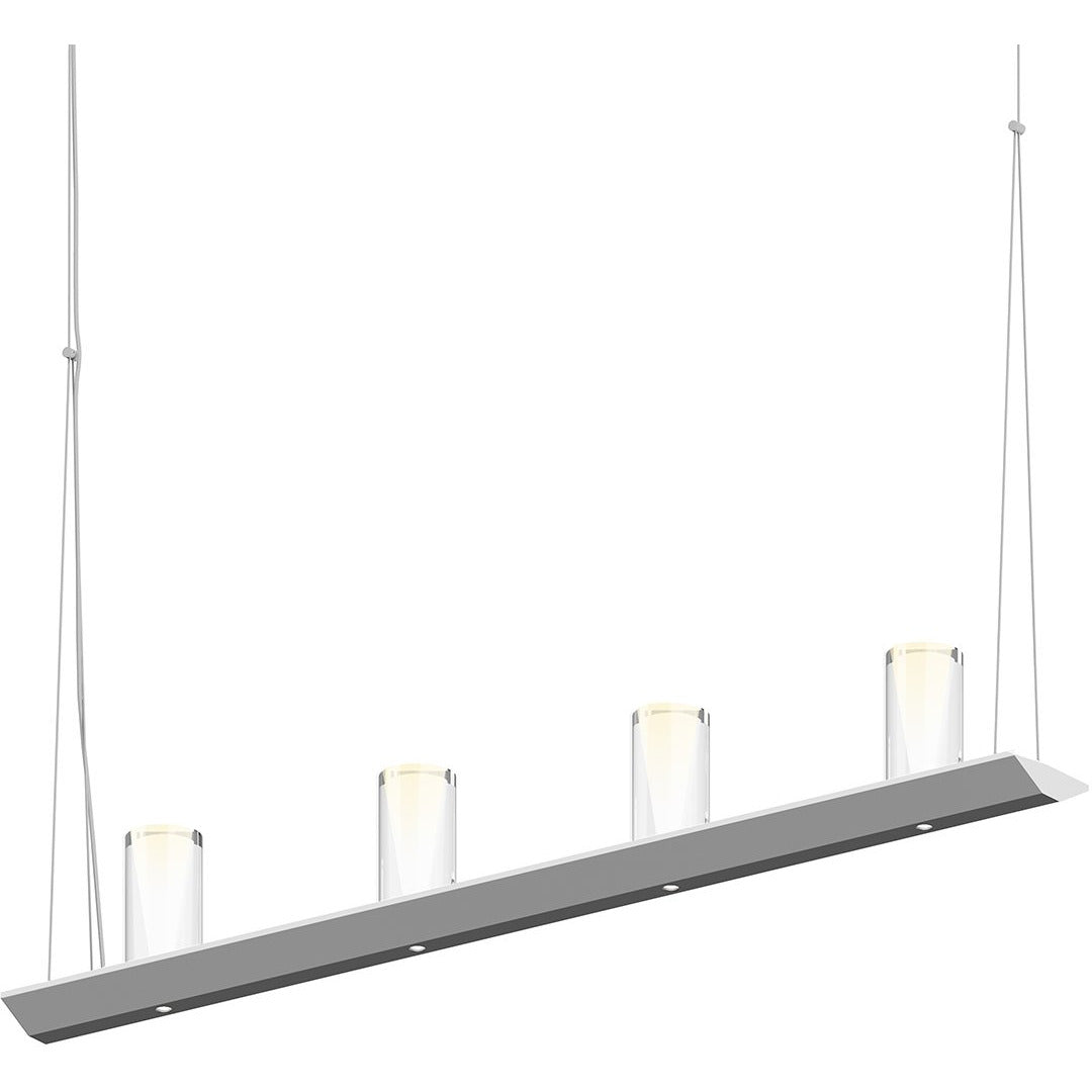 Sonneman - A Way of Light - 2857.16-SC - LED Pendant - Votives - Bright Satin Aluminum