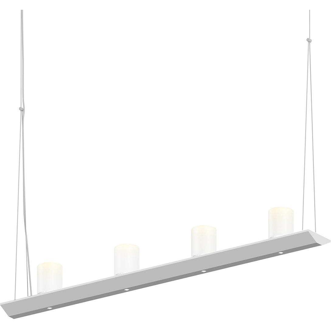 Sonneman - A Way of Light - 2857.16-SW - LED Pendant - Votives - Bright Satin Aluminum