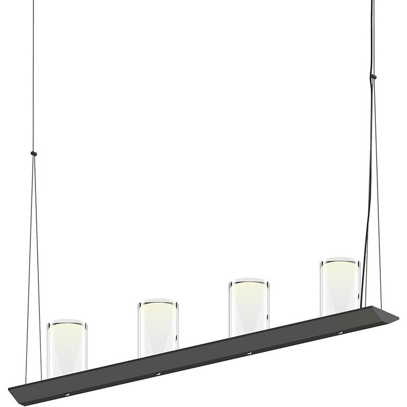 Sonneman - A Way of Light - 2857.25-LC - LED Pendant - Votives - Satin Black